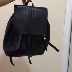 Zara black bookbag